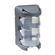 QuestSystem Q4 Grey Large Organiser bin