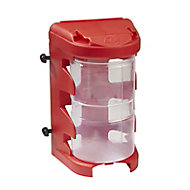 QuestSystem Q4 Red Large Organiser bin