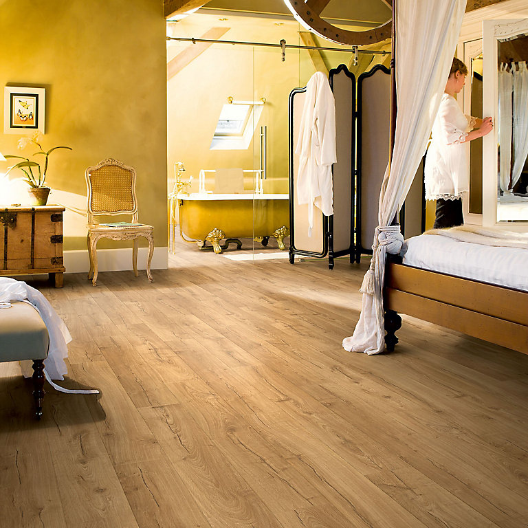 Quick Step Aquanto Classic Oak Effect, Quickstep Andante Oak Effect Laminate Flooring