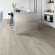 Quick-step Aquanto Dark grey Oak effect Laminate Flooring, 1.835m² Pack