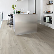 Quick-step Aquanto Grey Oak effect Laminate Flooring, 1.835m² Pack