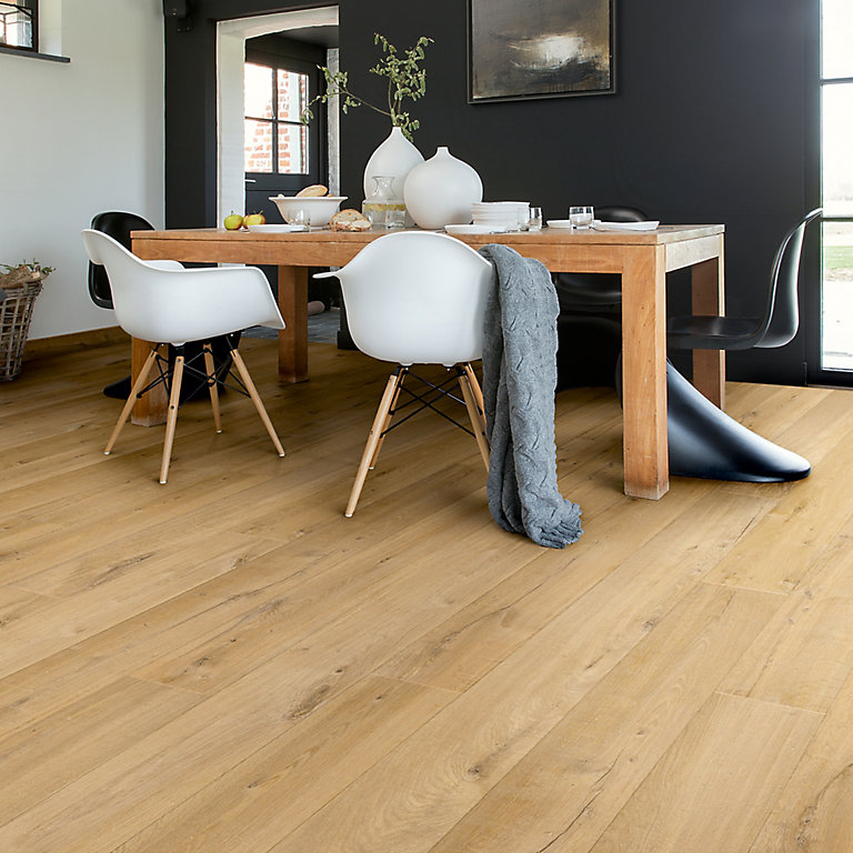 Quick Step Aquanto Natural Oak Effect, Quickstep Andante Oak Effect Laminate Flooring