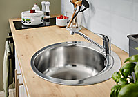 Quimby Inox Stainless steel 1 Bowl Sink