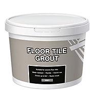 Ready mixed Grey Floor tile Grout, 3.3kg Tub