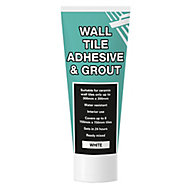 Ready mixed White Wall tile Adhesive & grout, 0.3kg