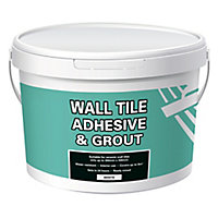 Ready mixed White Wall tile Adhesive & grout, 13.1kg