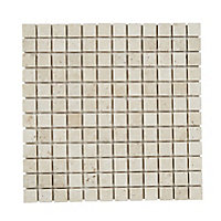 Real tumbled travertine Beige Natural structure 2x2