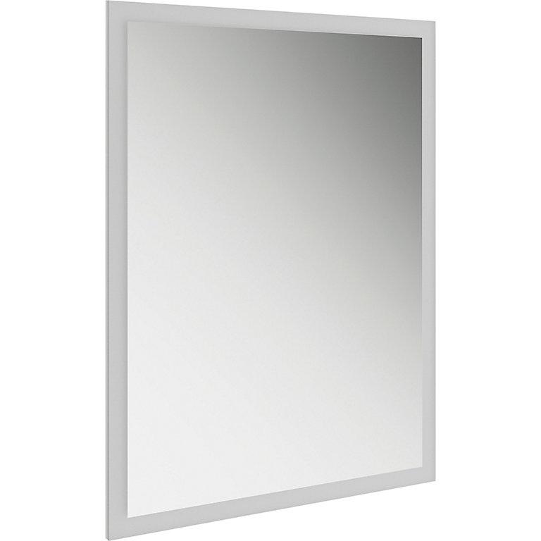 Rectangular Illuminated Bathroom Mirror H 800mm W 600mm Diy At B Q