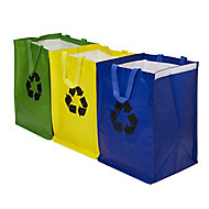Recycling bag, Set of 3