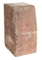 Red Block kerb (L)200mm (W)100mm (T)125mm