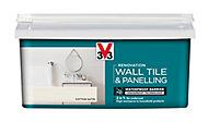 Renovation Cotton Satin Wall tile & panelling paint, 2L