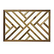 Richard Burbidge Decking Traditional Decorative panel Trellis panel (W)1.13m (H)0.76m