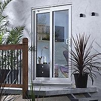 Richmond White uPVC External Patio Door frame, (H)2050mm (W)1790mm