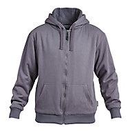 Rigour Grey Hoodie Large