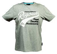 Rigour Grey T-shirt Large
