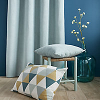 Rima Triangle Multicolour Cushion (L)60cm x (W)40cm