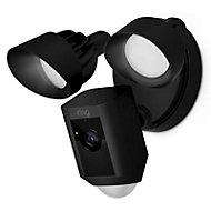 Ring 1080p Floodlight camera, Black