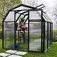 Rion Eco Grow 6x6 Acrylic Barn Greenhouse
