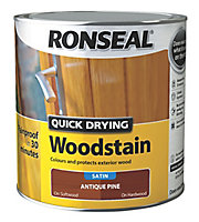 Ronseal Antique pine Satin Wood stain, 2.5L