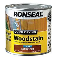 Ronseal Antique pine Satin Wood stain, 250ml