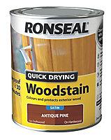 Ronseal Antique pine Satin Wood stain, 750ml