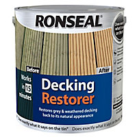 Ronseal Clear Decking restorer, 2.5L