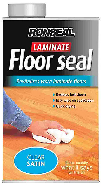 Ronseal Clear Laminate Sealant 1l, How To Seal Laminate Flooring