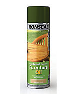 Ronseal Clear Matt Furniture Wood oil, 0.5L