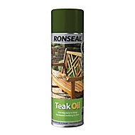 Ronseal Clear Matt Teak Furniture Wood oil, 0.5L