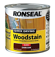 Ronseal Dark oak Gloss Wood stain, 250