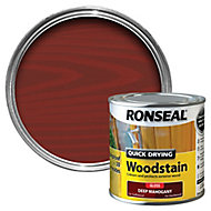 Ronseal Deep mahogany Gloss Wood stain, 250ml
