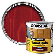 Ronseal Deep mahogany Satin Wood stain, 2.5L