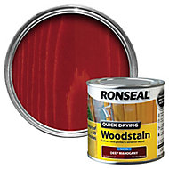 Ronseal Deep mahogany Satin Wood stain, 250ml