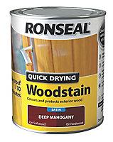 Ronseal Deep mahogany Satin Wood stain, 750ml