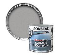 Ronseal Diamond hard Slate Satin Garage floor paint, 2.5L