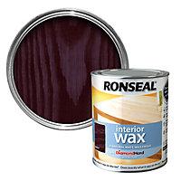 Ronseal Diamond hard Walnut Matt Wax Wood wax, 0.75L
