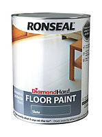 Ronseal Diamond Slate Satin Floor paint 5L