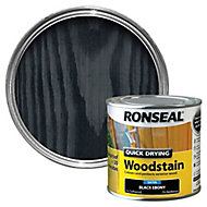 Ronseal Ebony Satin Wood stain