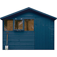 Ronseal Fence life plus Midnight blue Matt Fence & shed Wood treatment, 12L