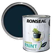 Ronseal Garden Blackbird Matt Metal & wood paint, 0.75
