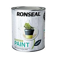 Ronseal Garden Blackbird Matt Metal & wood paint, 0.75