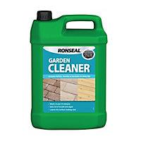 Ronseal Garden cleaner Patios, paving & decking Fungicidal wash, 5L Bottle
