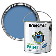 Ronseal Garden Cornflower Matt Metal & wood paint, 2.5L