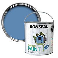 Ronseal Garden Cornflower Matt Metal & wood paint, 2.5L
