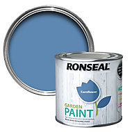 Ronseal Garden Cornflower Matt Metal & wood paint, 250ml