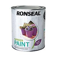 Ronseal Garden Purple berry Matt Metal & wood paint, 750ml