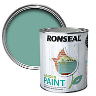 Ronseal Garden Sage Matt Metal & wood paint, 0.75L