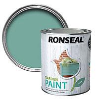 Ronseal Garden Sage Matt Metal & wood paint, 0.75L