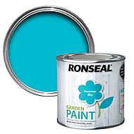 Ronseal Garden Summer sky Matt Metal & wood paint, 250ml