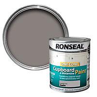 Ronseal Granite grey Satin Cupboard paint 750 ml